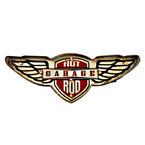Lumin 225 Ria De Parede Garagem Vintage Para Decora 231 227 O Hot Garage
