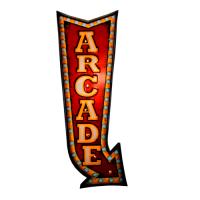 Luminária De Parede Vintage Decoração Arcade Nova Coleção
