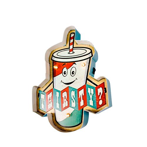 Luminária Vintage Está Com Sede? Novo Vintage Para Decoração  Thirsty