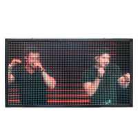 Painel De LED, Letreiro Digital 135cm x 70cm Full Color, Suporta Vídeos