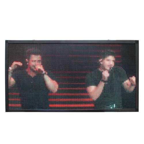 Painel De LED, Letreiro Digital 135cm x 102cm Full Color, Suporta Vídeos