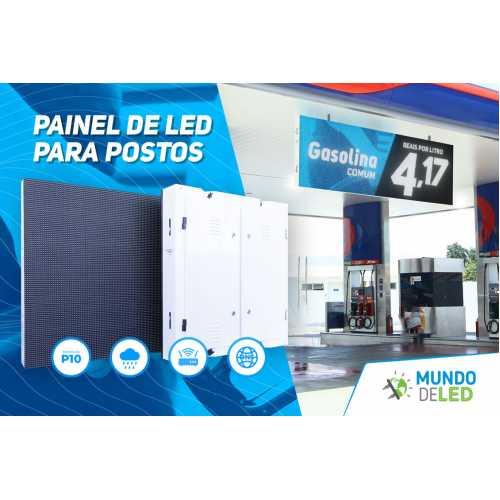 Painel de LED para os postos de gasolina