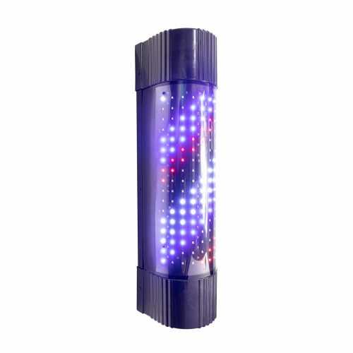 Barber Pole De LED Diversos Efeitos de Iluminação 60cm