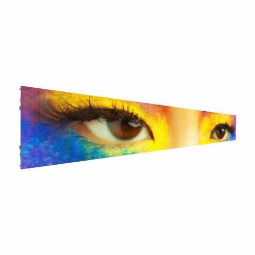Painel De Led SMD P10 6m X 1m Full Color Outdoor para  Publicidade