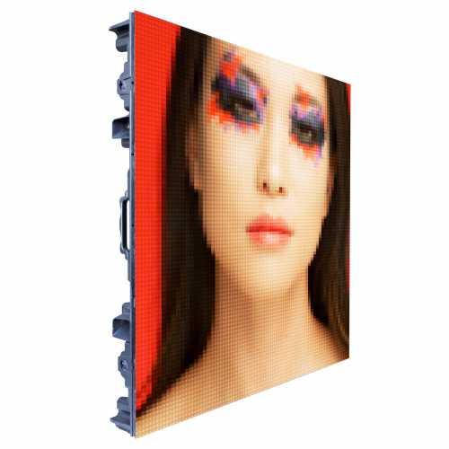 Painel Gabinete de LED P10 96cm x 96cm Full Color Outdoor P10 SMD Receiver