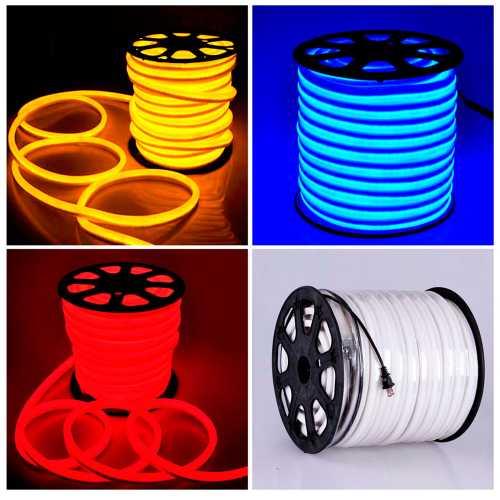 Mangueira de LED Neon Flex extremamente Resistente Fita de LED 15mm x 25mm