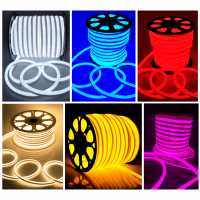 Mangueira de LED Neon Flex Fita de LED 16mm x 8mm