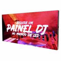 Painel De Led P5 Para Show Dj 200cm X 100cm Full Color indoor