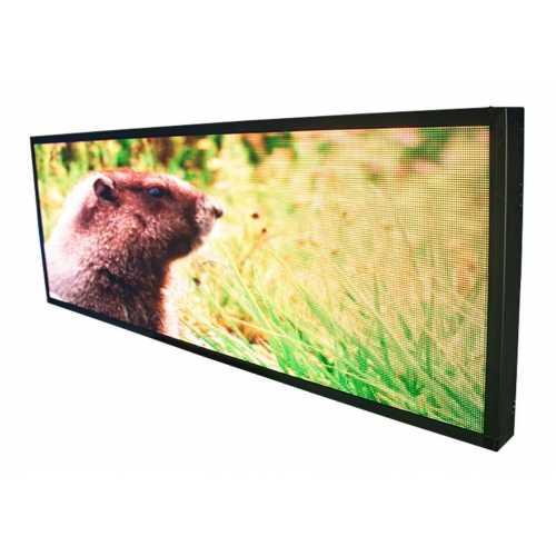 Painel de LED, Letreiro Digital RGB 100cm x 72cm Colorido Full color P5