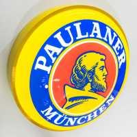 Luminoso De Led 50cm Bar Cerveja Paulaner Munchen Neon