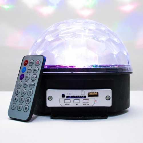 Bola magica de Iluminação RGB para festas Bola Maluca USB