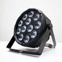 Canhão Refletor Par LED RGBW Com 12 LEDs Para Festas DJ 36w