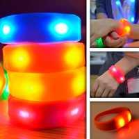 Pulseira De Led Sport Com Sensor de movimento Bracelete De Silicone