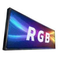 Painel De LED RGB, Letreiro Digital 200cm x 72cm Colorido Alto Brilho