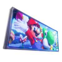 Letreiro De LED 135cm x 56cm Painel de LED RGB Colorido