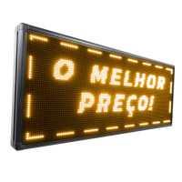 Painel De LED, Letreiro Digital 167cm x 56cm Alto Brilho