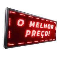 Letreiro De LED 100cm x 56cm Painel de LED Alto Brilho