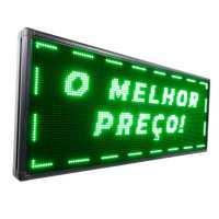 Painel De LED, Letreiro Digital 135cm x 56cm Alto Brilho
